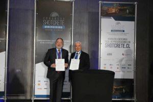 ICH y CTES firmaron convenio marco en el segundo Congreso Shotcrete Underground 2019