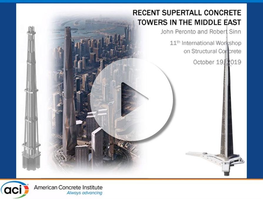Robert Sinn y John Peronto – «Recientes Edificios Superaltos de Hormigón en Medio Oriente»