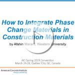 """Moncef Nehdi y Afshin Marani -""""Cómo integrar materiales que presentan cambio de fase en los materiales de construcción"""""""