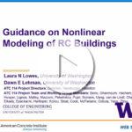 """Laura Lowes – """"Guías para la modelación no lineal de estructuras de hormigón"""""""