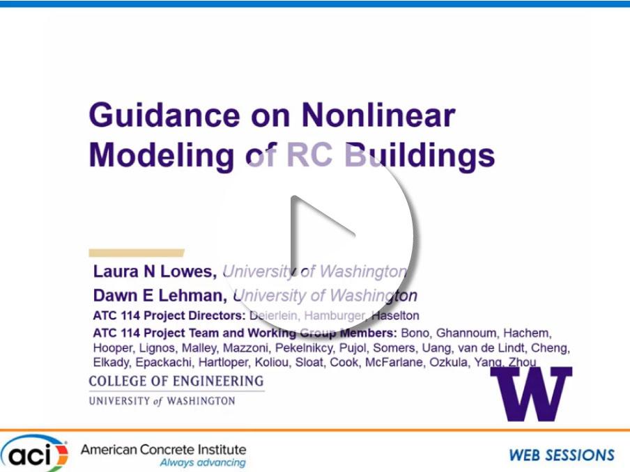 """""""Guías para la modelación no lineal de estructuras de hormigón"""""""