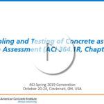 Benoit Bissonnette – «Muestreo y Ensayos para la evaluación de estructuras existentes»