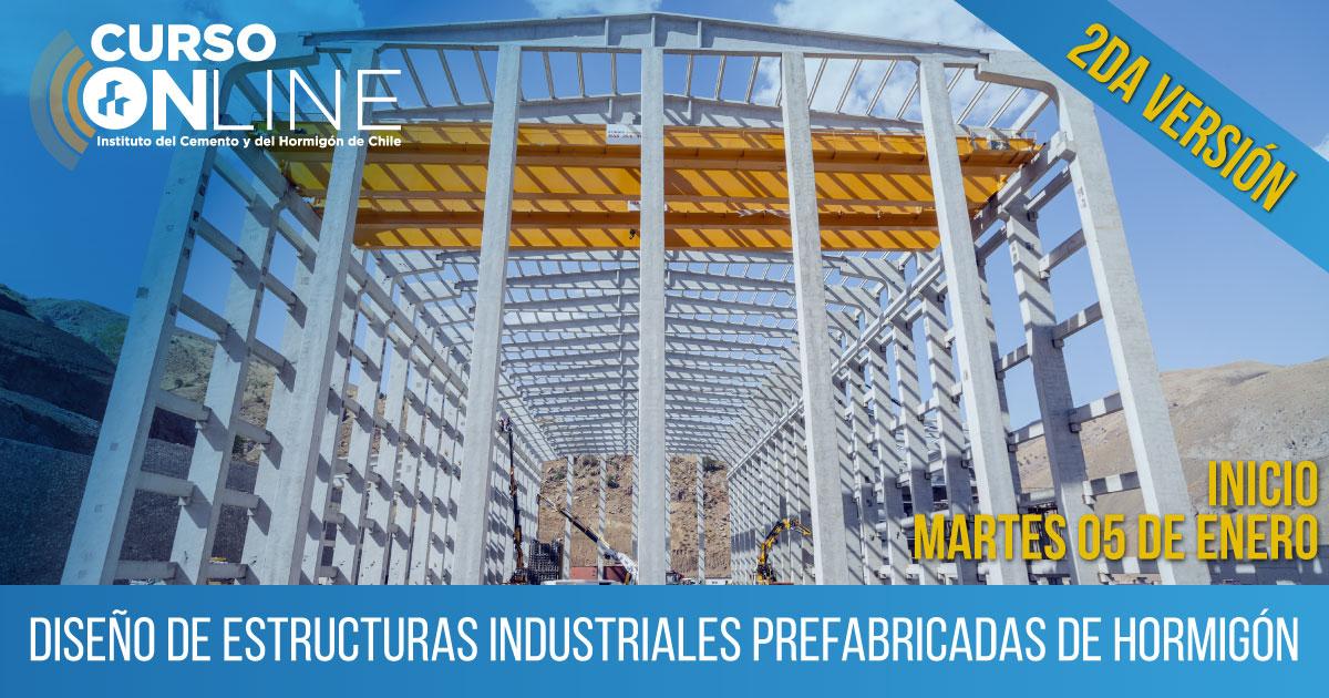 Diseño de Estructuras Industriales Prefabricadas de Hormigón
