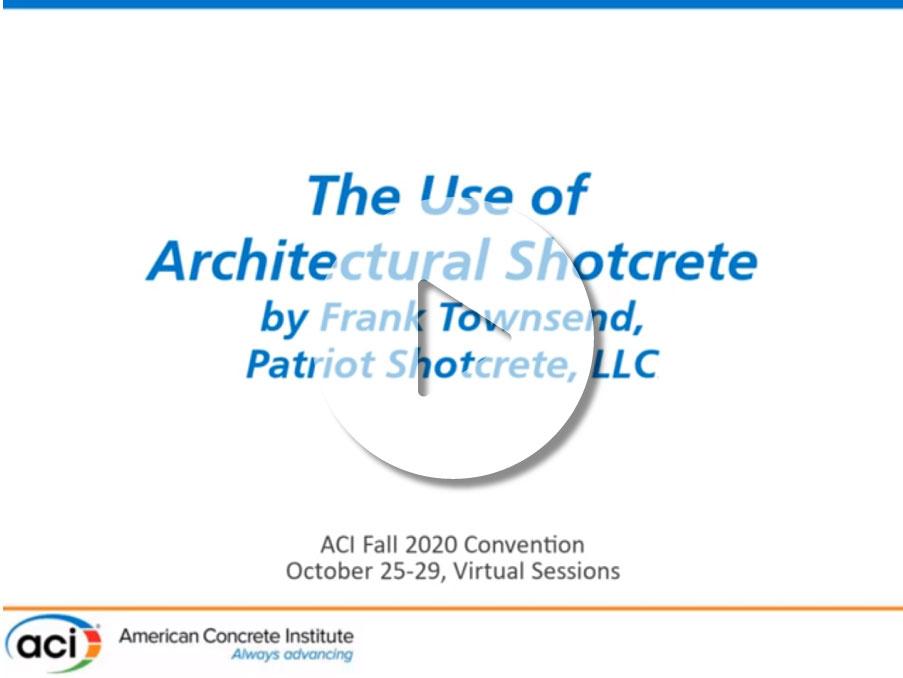 Uso de shotcrete arquitectónico