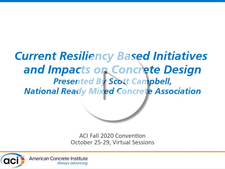 Iniciativas actuales basadas en resiliencia y sus impactos en el diseño del hormigón