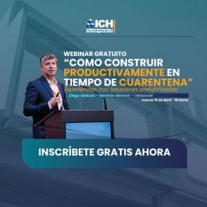 ICH invita a webinar dedicado a la industrialización en tiempos de pandemia