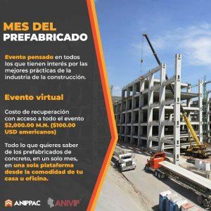 """ICH invita al """"Mes del Prefabricado"""" organizado por ANIPPAC"""