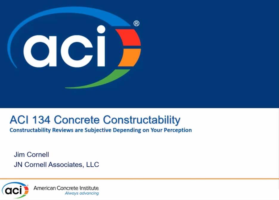 Los análisis sobre constructabilidad son subjetivos y dependen de quién los realice