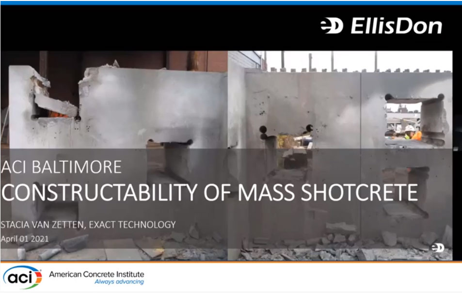 Constructabilidad del Shotcrete Masivo